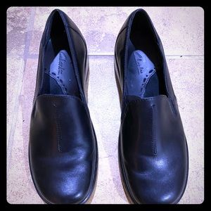 Clarks loafer black size 6